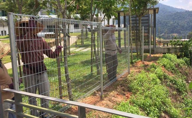 pemasangan pagar brc