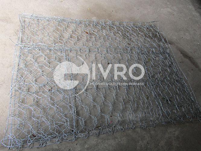 kawat bronjong - gabion mesh