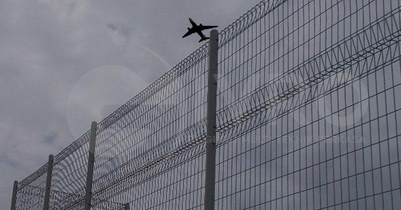 pagar brc bandara