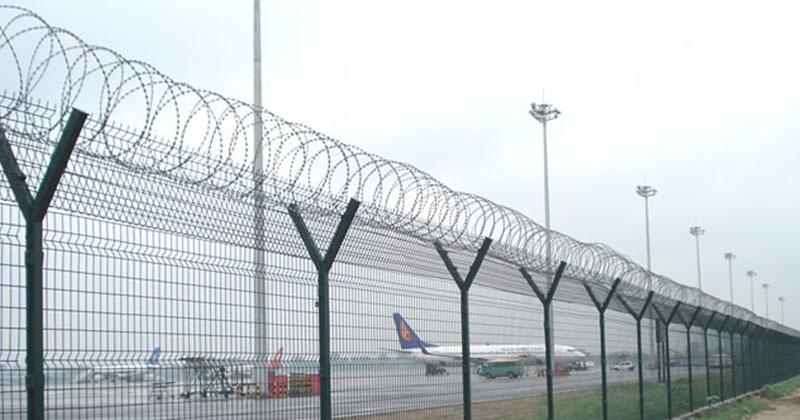 produksi pagar bandara