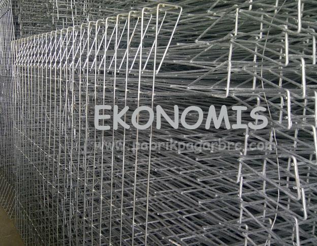 Pagar BRC Ekonomis dengan Harga Manis