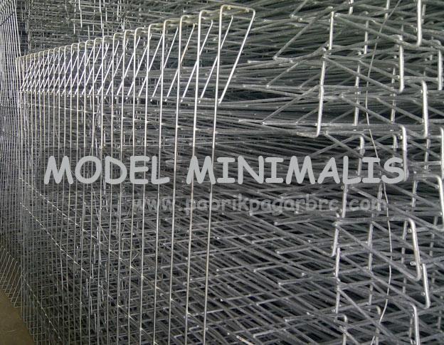Pagar BRC model minimalis dan harga manis
