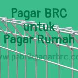 Pagar BRC untuk Rumah